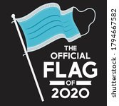 the official flag of 2020... | Shutterstock .eps vector #1794667582