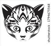 a very nice cat animal... | Shutterstock .eps vector #1794675568