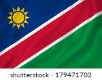 namibia national flag... | Shutterstock . vector #179471702