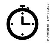 timer icon. timer vector icon.... | Shutterstock .eps vector #1794741538