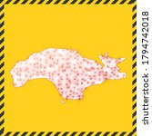 samos closed   virus danger... | Shutterstock .eps vector #1794742018
