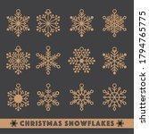 Christmas Snowflakes  Laser  ...