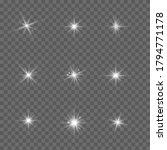 white glowing light explodes on ... | Shutterstock .eps vector #1794771178