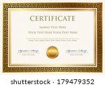 vector certificate of... | Shutterstock .eps vector #179479352
