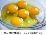 Beautiful Picture Of Egg Yolks...