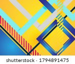 colorful abstract background... | Shutterstock .eps vector #1794891475