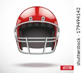 realistic american football... | Shutterstock .eps vector #179494142