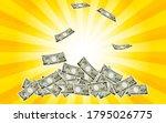 illustration of ichiman yen... | Shutterstock .eps vector #1795026775