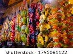 churchkhela   sweet dessert in...   Shutterstock . vector #1795061122
