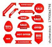 sale   creative labels set...   Shutterstock .eps vector #1795066798