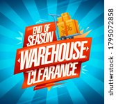 end of season warehouse...   Shutterstock .eps vector #1795072858