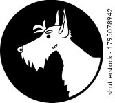Logo For Pet Shop. Scottish...