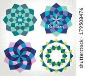 vector  colorful checkered... | Shutterstock .eps vector #179508476