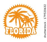 florida travel rubber stamp on... | Shutterstock .eps vector #179520632