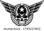 skull military illustration... | Shutterstock .eps vector #1795227832