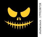 vector ghost in the dark.... | Shutterstock .eps vector #1795238728