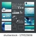 set of various elements used... | Shutterstock .eps vector #179525858