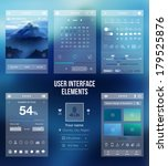 set of various elements used... | Shutterstock .eps vector #179525876