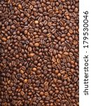 numerous coffee beans which... | Shutterstock . vector #179530046
