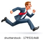 running young businessman... | Shutterstock . vector #179531468