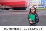 back to school concept. smiling ... | Shutterstock . vector #1795324375