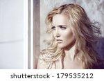 delicate girl image. | Shutterstock . vector #179535212