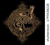celtic sacred symbols  ...   Shutterstock .eps vector #1795438228