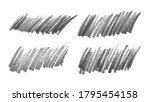 scribble with a black marker....   Shutterstock .eps vector #1795454158