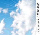 natural background with clouds...   Shutterstock .eps vector #1795454248
