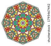 mandala flower decoration  hand ...   Shutterstock .eps vector #1795467442