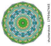 mandala flower decoration  hand ...   Shutterstock .eps vector #1795467445