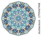 mandala flower decoration  hand ...   Shutterstock .eps vector #1795467448