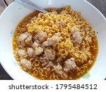 Instant Noodles With Pork Chop...