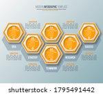 vector abstract 3d paper...   Shutterstock .eps vector #1795491442
