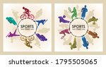 sports time poster with...   Shutterstock .eps vector #1795505065