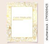 vintage delicate greeting...   Shutterstock .eps vector #1795505425