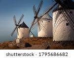 Windmills And Castle Of...