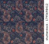 abstract digital design pattern ... | Shutterstock . vector #1795698412