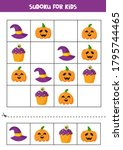 Sudoku Game With Cute Halloween ...