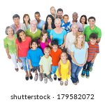 community with diverse and... | Shutterstock . vector #179582072
