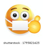 high quality emoticon on white... | Shutterstock .eps vector #1795821625