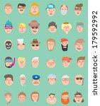 Faces Icons Mega Pack  Flat...
