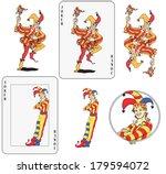 Set Of Jokers Playing Card....