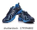 new unbranded running shoe ... | Shutterstock . vector #179596802