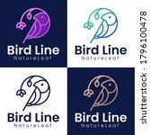Natural Bird Logo Collection....
