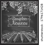 """young wine holiday """"beaujolais...   Shutterstock .eps vector #1796171428"""