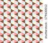 abstract retro geometric... | Shutterstock .eps vector #179630012