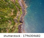 Aerial Top View Seascape....
