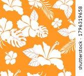 hibiscus flower hawaiian floral ...   Shutterstock .eps vector #1796319658