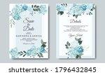 beautiful floral wreath wedding ...   Shutterstock .eps vector #1796432845